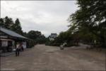 Running to Nagoya Castle