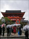 Putting the Mizu in Kiyomizudera, or Blame It On the Raaaaain